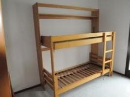 Deux lits superposés (pliants)