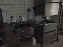 Bac plonge avec lave vaisselle